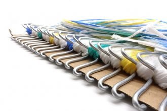 Quick Hook System met verschillende kleuren touw